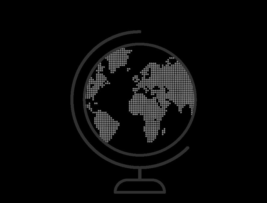 Jordglob ikon