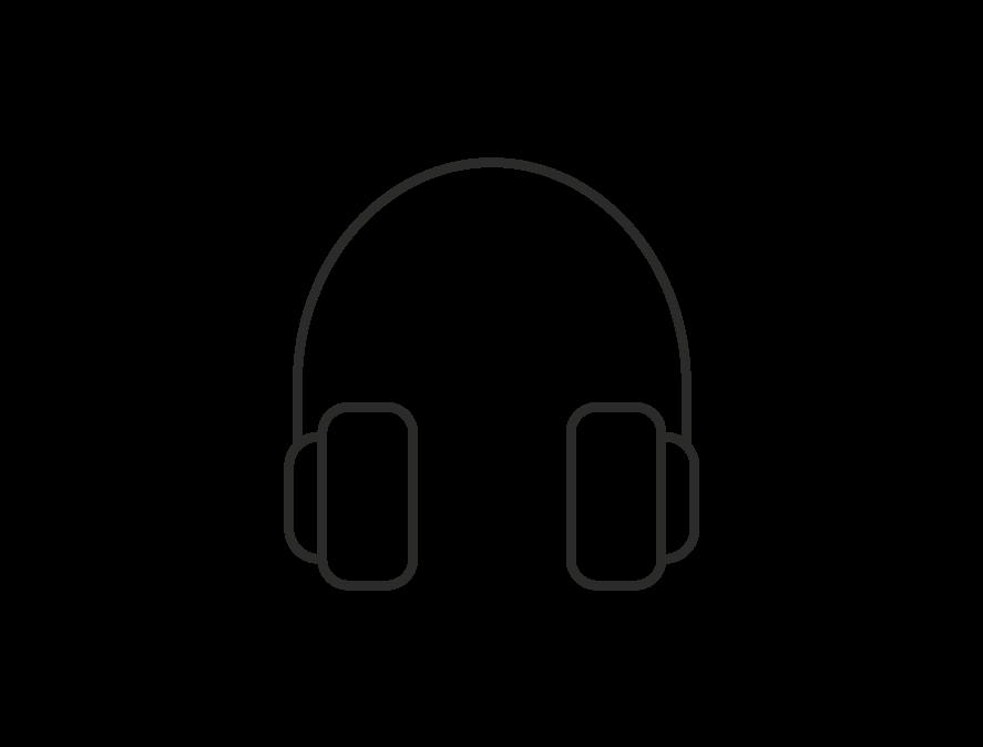 Headset Ikon